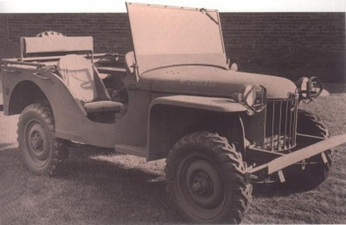The First Jeep (1940)